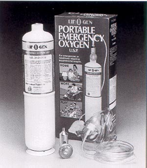 ALLIED LIF-O-GEN EMERGENCY OXYGEN UNITS