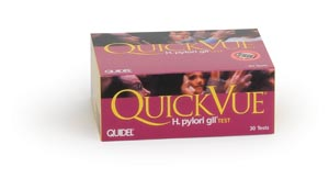 QUIDEL QUICKVUE ONE-STEP H. PYLORI KIT