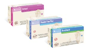 TILLOTSON ACCUTOUCH POWDER-FREE POLYMER LINED EXAMINATION GLOVES