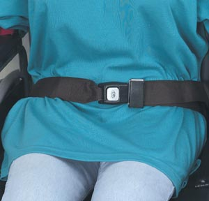 DMI WHEELCHAIR SAFETY STRAPS