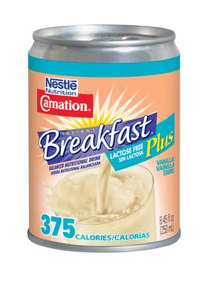 NESTLE CARNATION INSTANT BREAKFAST LACTOSE FREE