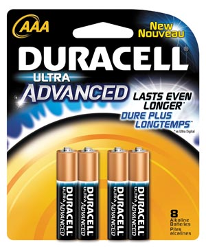 DURACELL ALKALINE ULTRA ADVANCED WITH POWERCHECK? BATTERY