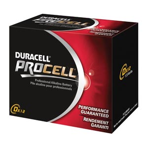 DURACELL PROCELL ALKALINE BATTERY <font color=&quot;#FF0000&quot;>(Over Stock Item)</font>