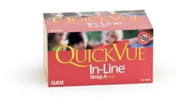 QUIDEL QUICKVUE IN-LINE ONE-STEP GROUP A STREP KIT